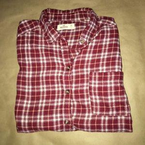 Hollister Plaid Long-sleeve shirt